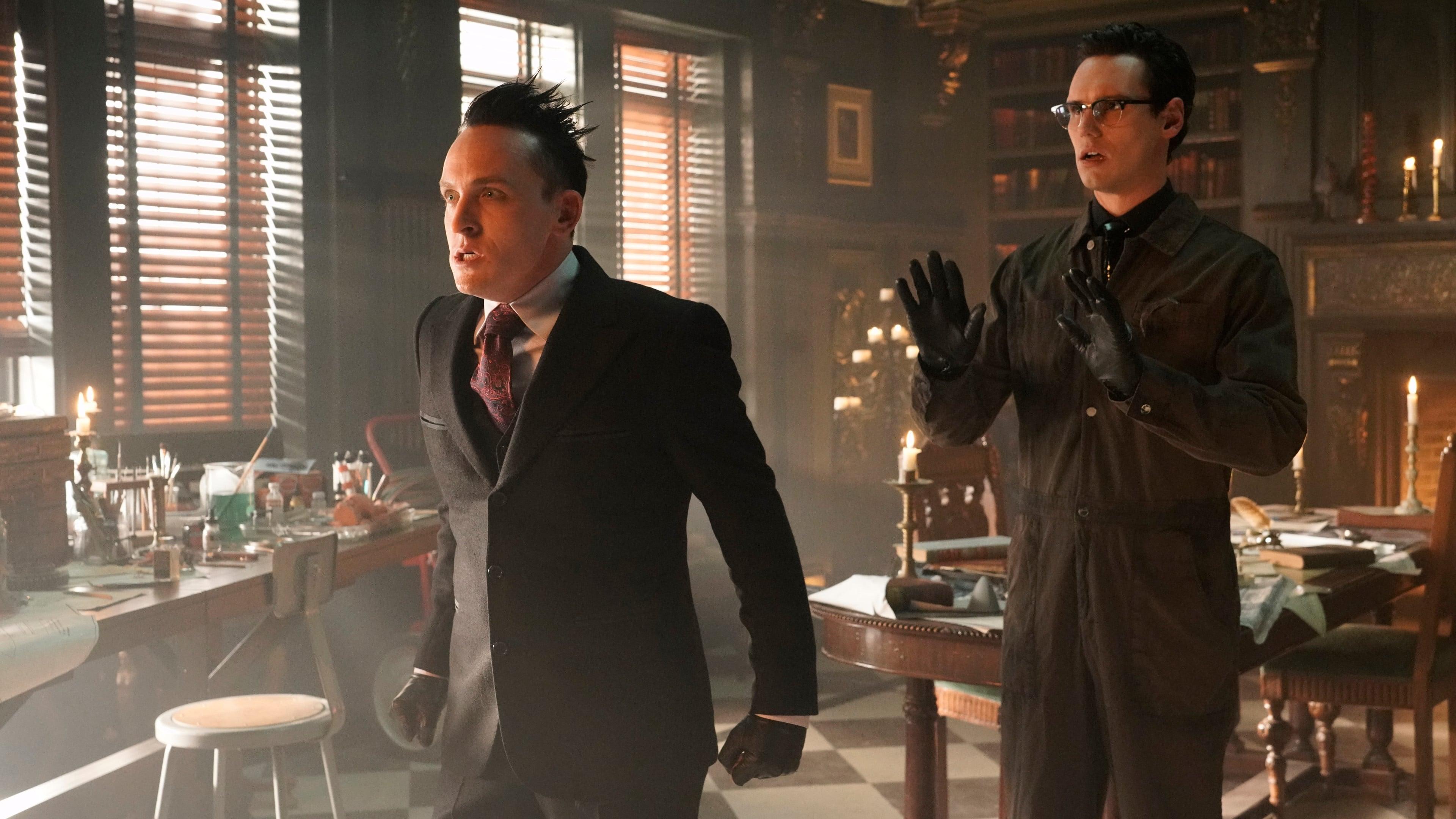 Gotham Season 5 :Episode 8  Legend of Dark Knight: Nothing's Shocking