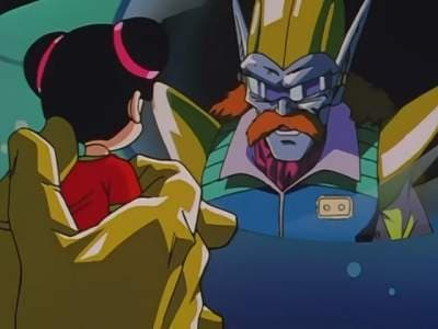 Dragon Ball GT Season 1 :Episode 13  This Is Father And Son!? The Riddle Of Scientist Myuu