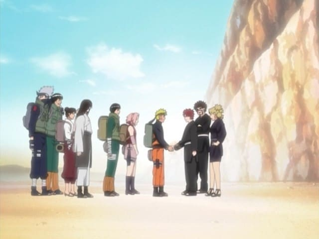 Naruto Shippūden - Season 1 Episode 32 : Return of the Kazekage
