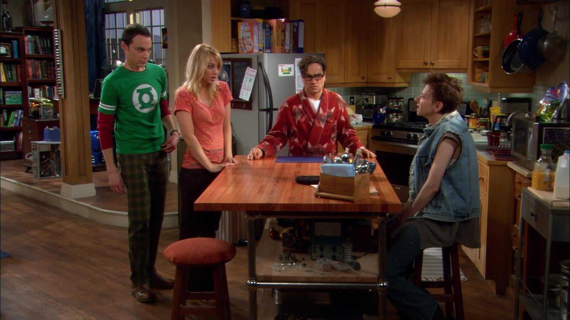 The Big Bang Theory Season 1 :Episode 10  The Loobenfeld Decay