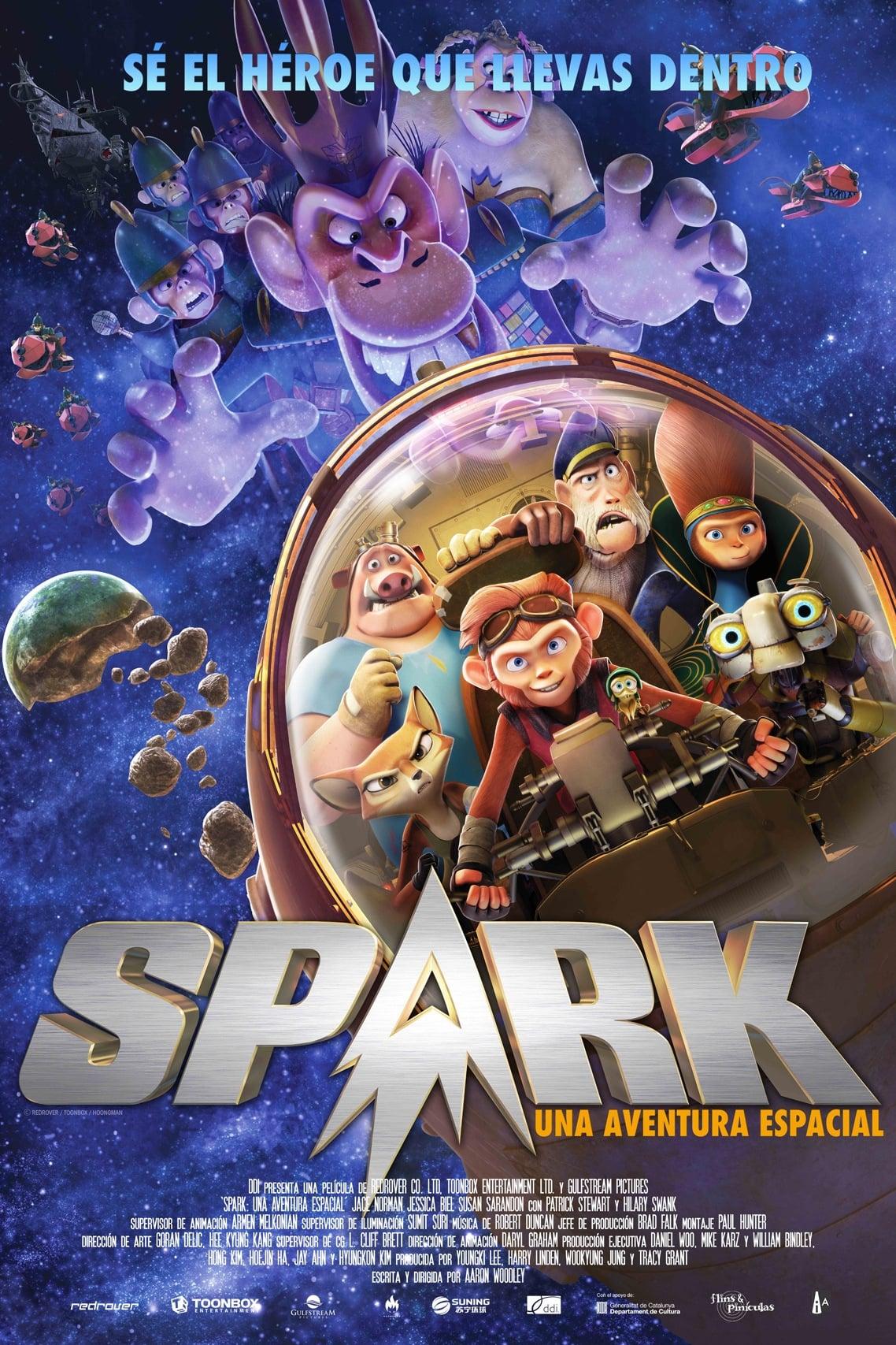 Póster Spark, una aventura espacial