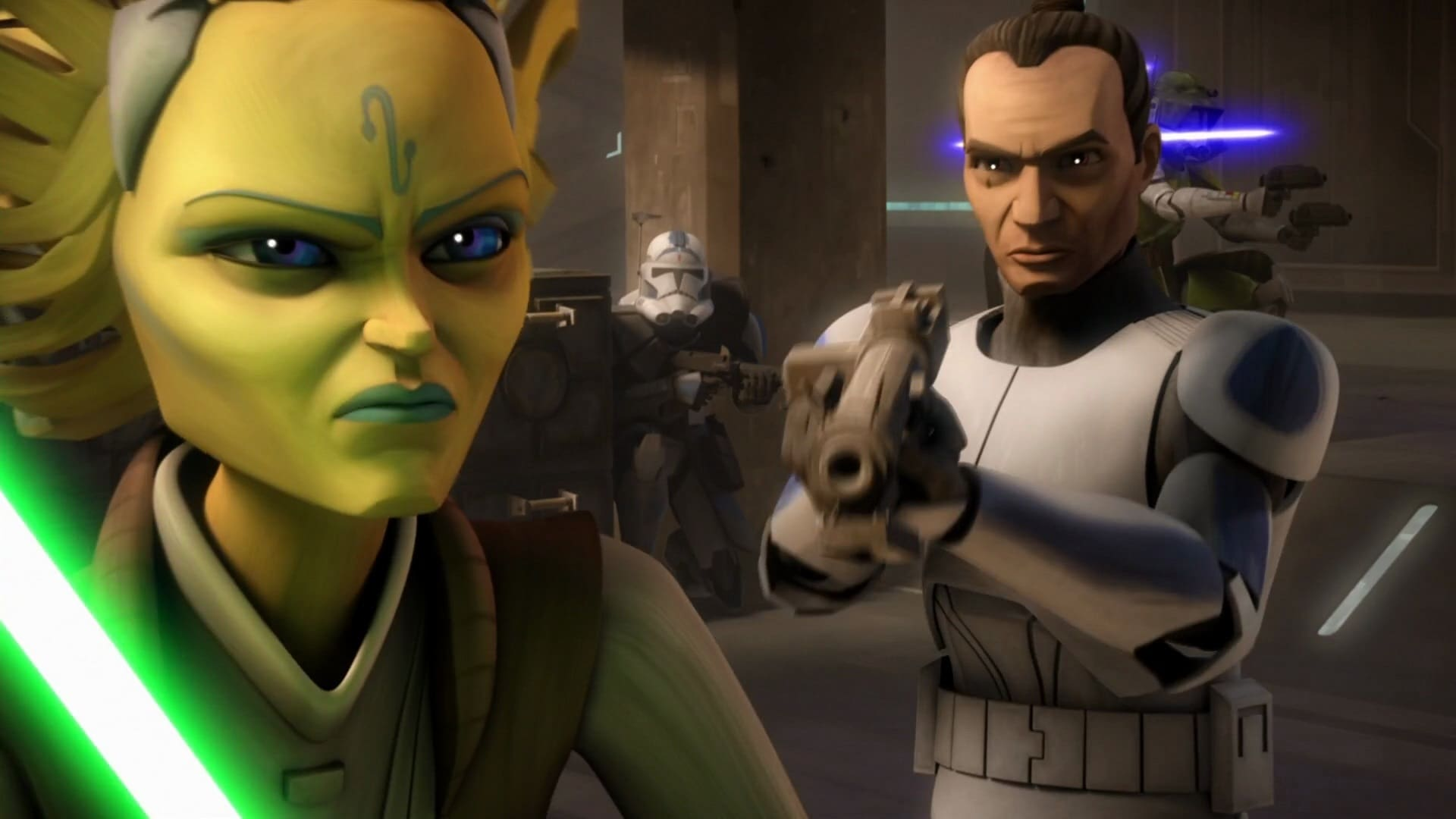 Star Wars: The Clone Wars - Season 6 Episode 1 : The Unknown