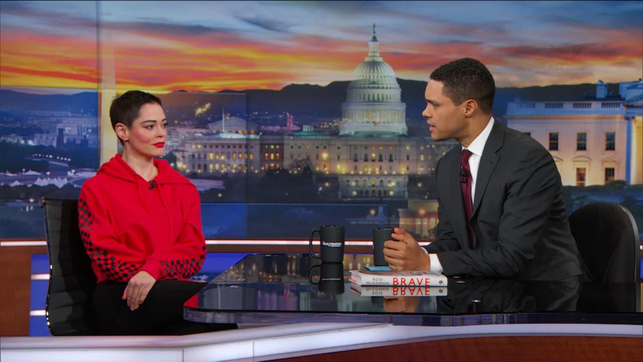 The Daily Show with Trevor Noah Season 23 :Episode 55  Rose McGowan