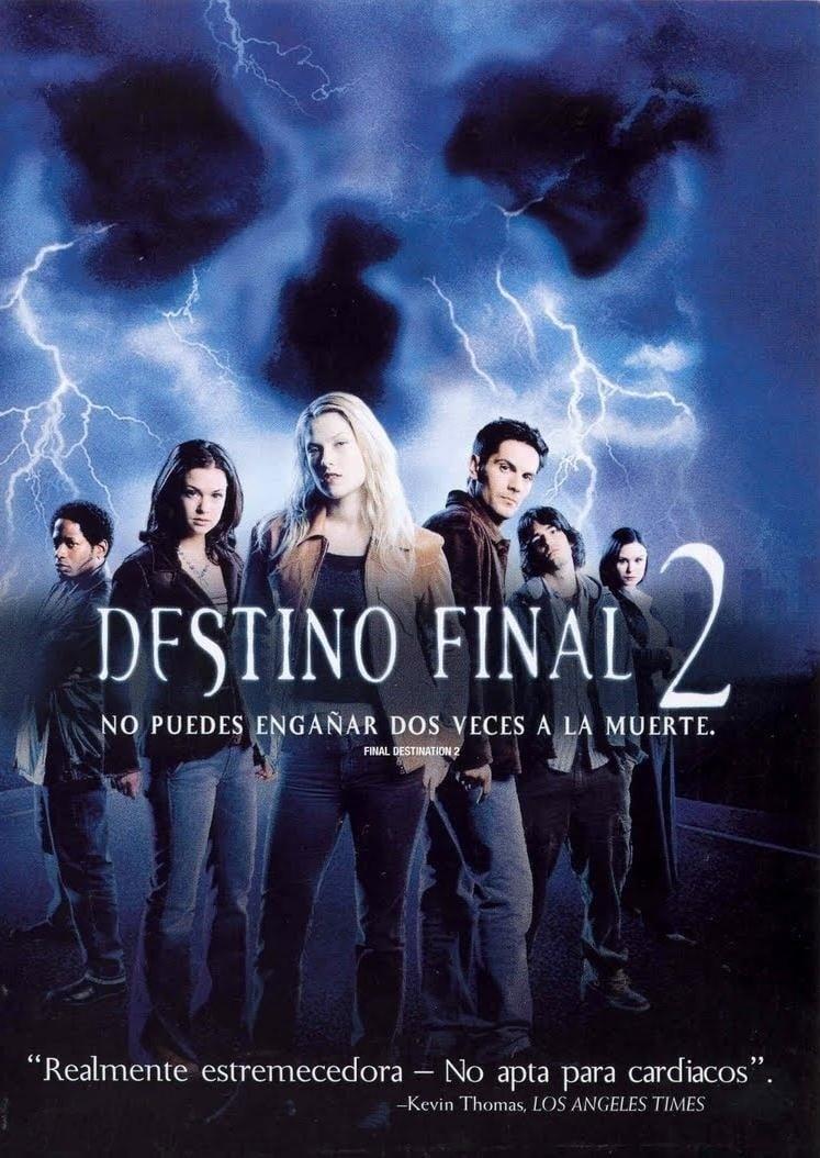 Póster Destino final 2