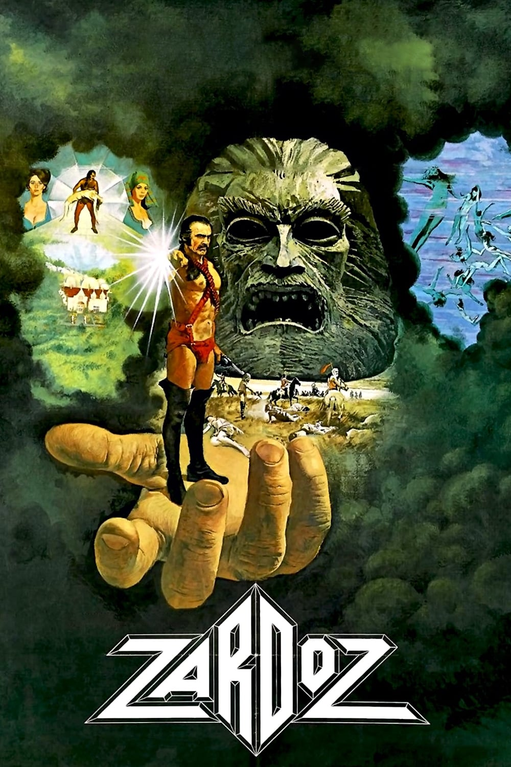 The Best Way To Fight With Teenager >> Zardoz (1974) • movies.film-cine.com