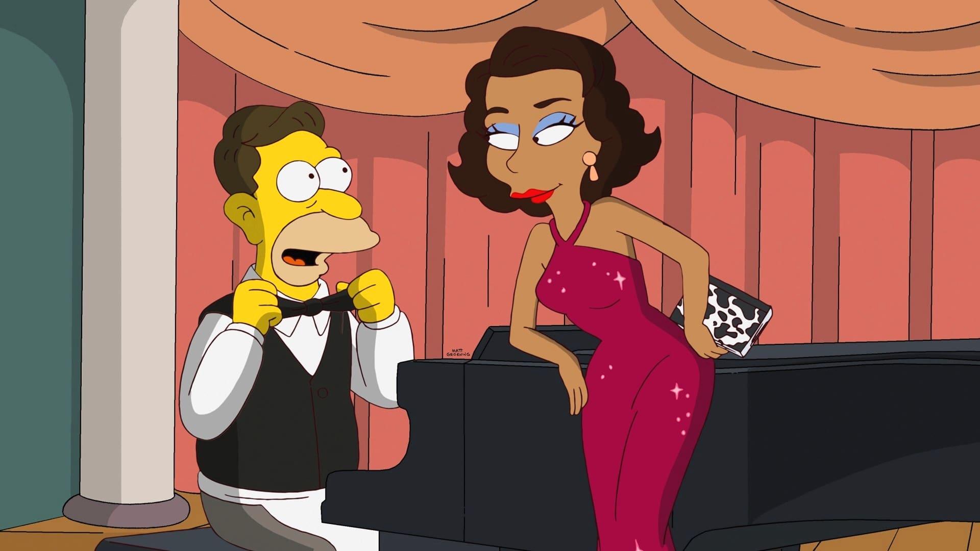 The Simpsons Season 24 :Episode 4  Gone Abie Gone