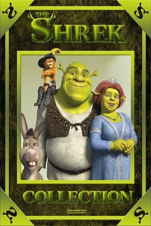 all movies from shrek collection saga are on movies film