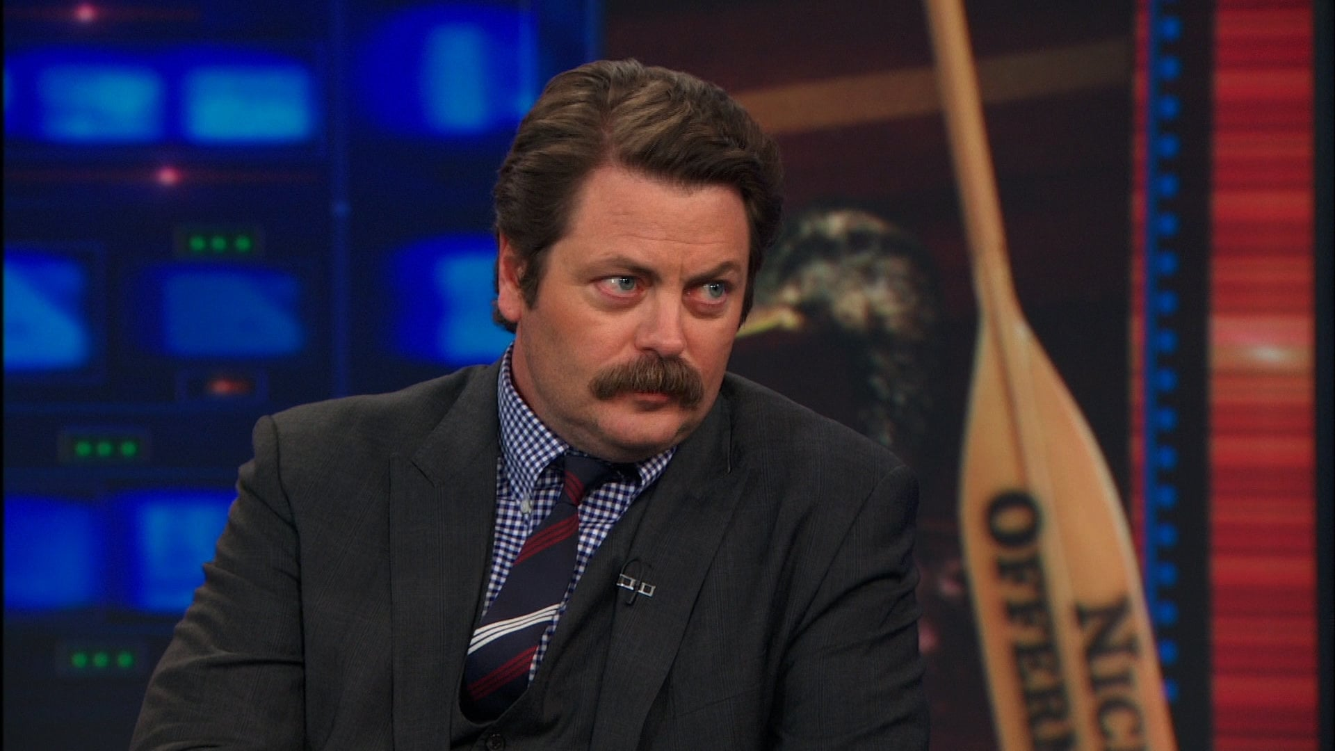 The Daily Show with Trevor Noah Season 19 :Episode 13  Nick Offerman