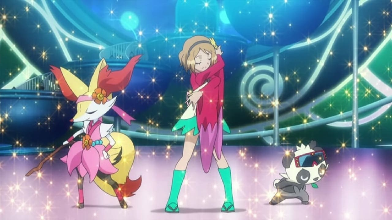 Pokémon Season 18 :Episode 32  Performing with Fiery Charm!