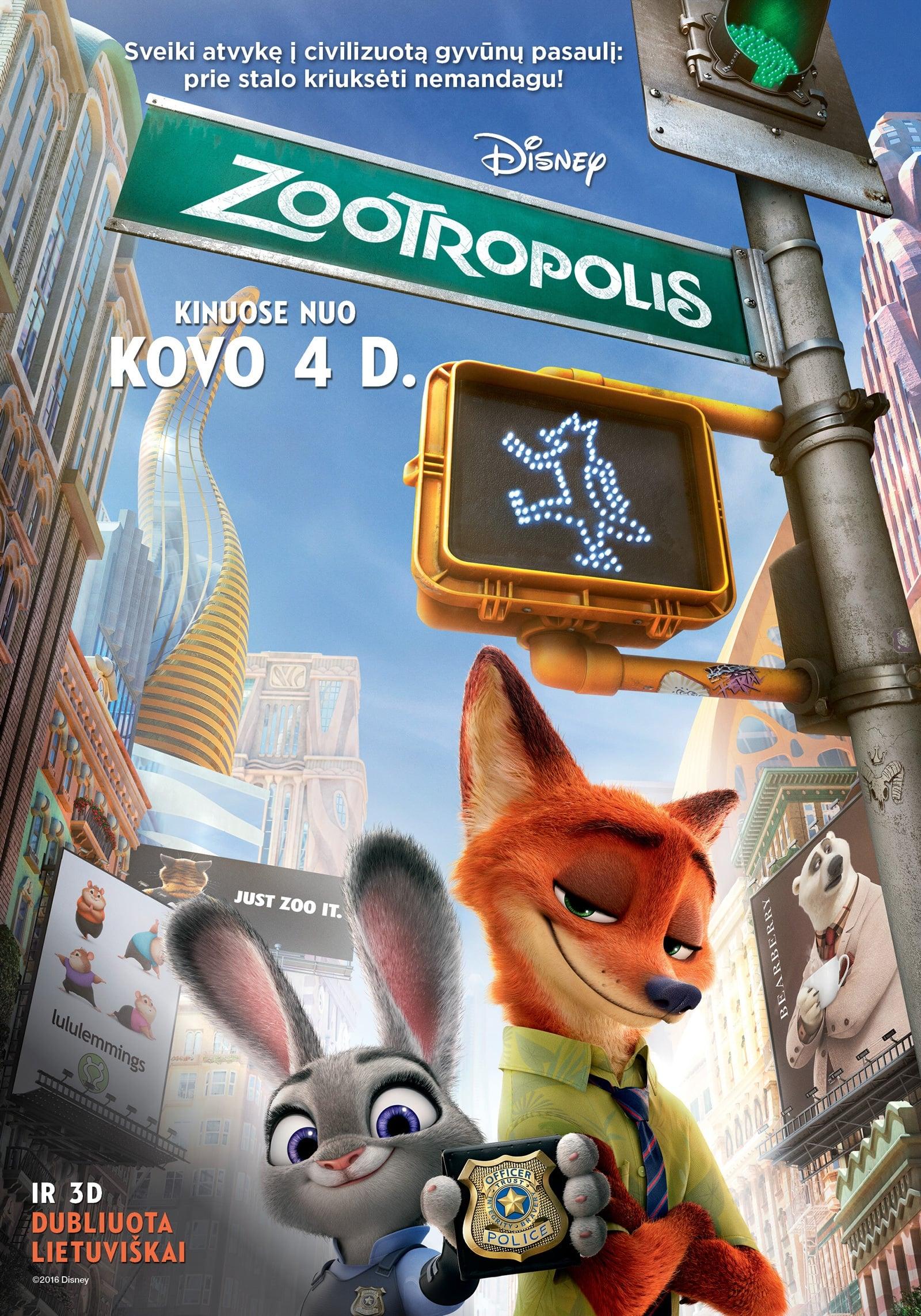 Zootropolis / Zootopia (2016)