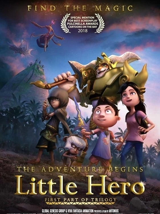Póster Little Hero y los amuletos m�gicos