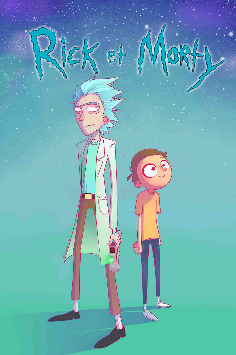 Rick et Morty series tv complet