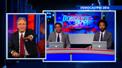 The Daily Show with Trevor Noah Season 0 :Episode 12  Special Edition - A Look Back at Democalypse 2012