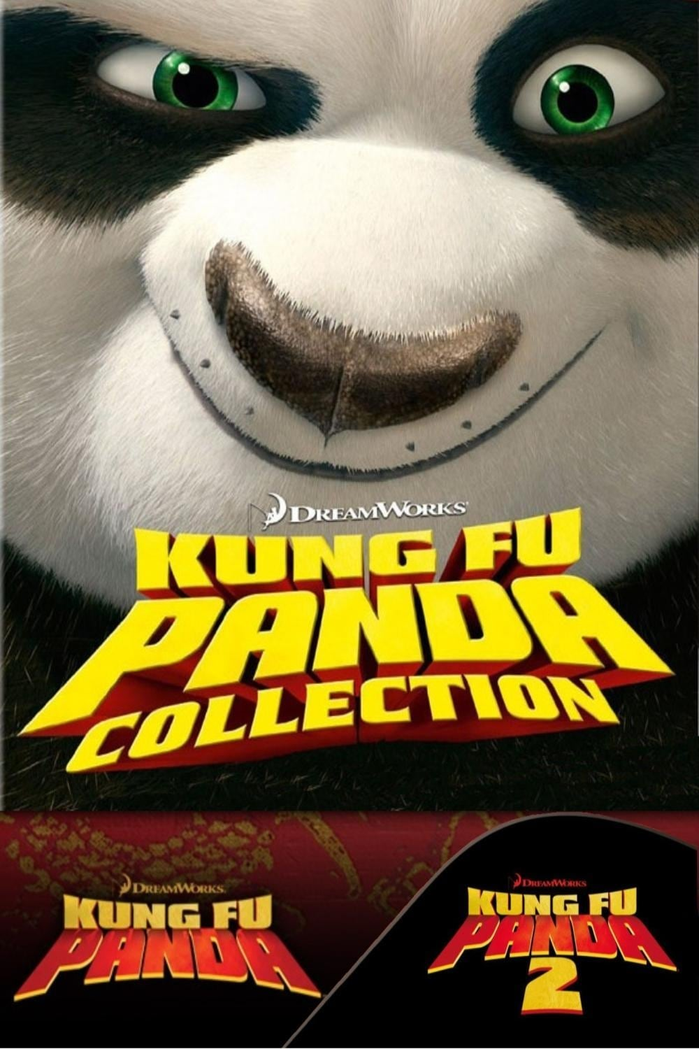 all movies from kung fu panda collection saga are on