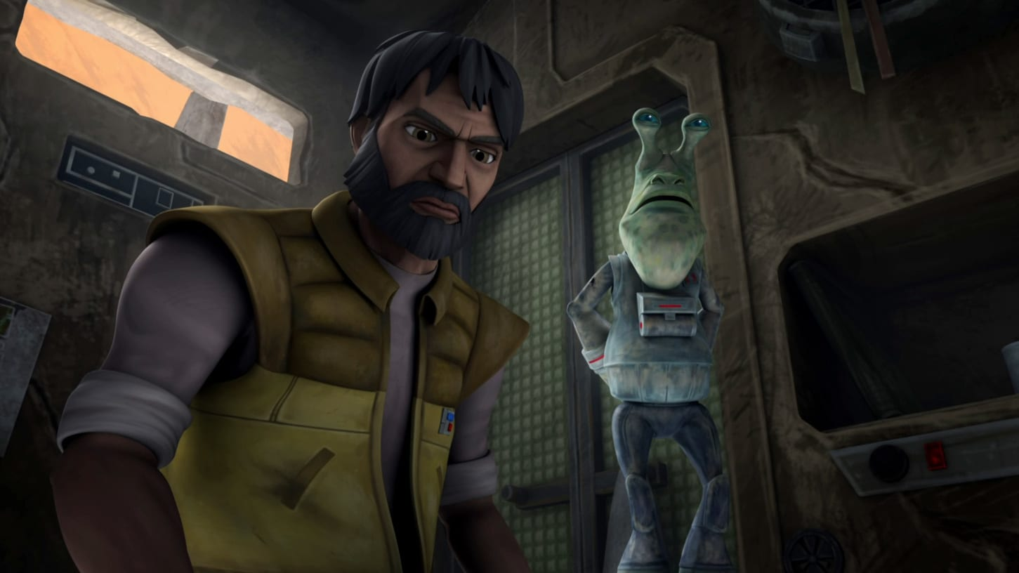 Star Wars: The Clone Wars - Season 5 Episode 12 : Missing in Action