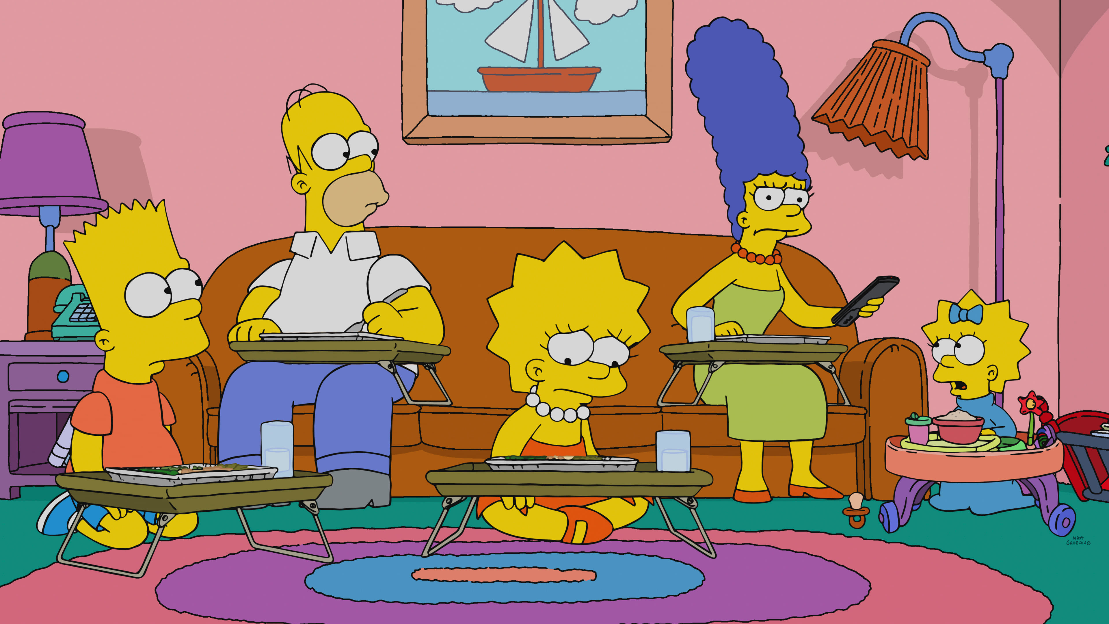 The Simpsons Season 30 :Episode 12  The Girl on the Bus