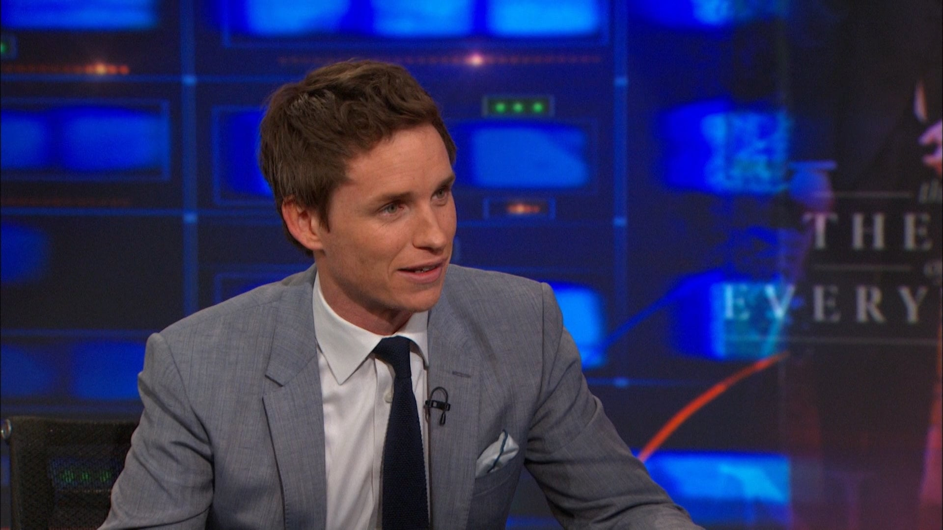 The Daily Show with Trevor Noah Season 20 :Episode 28  Eddie Redmayne