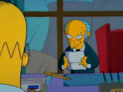 The Simpsons - Season 2 Episode 22 : Blood Feud