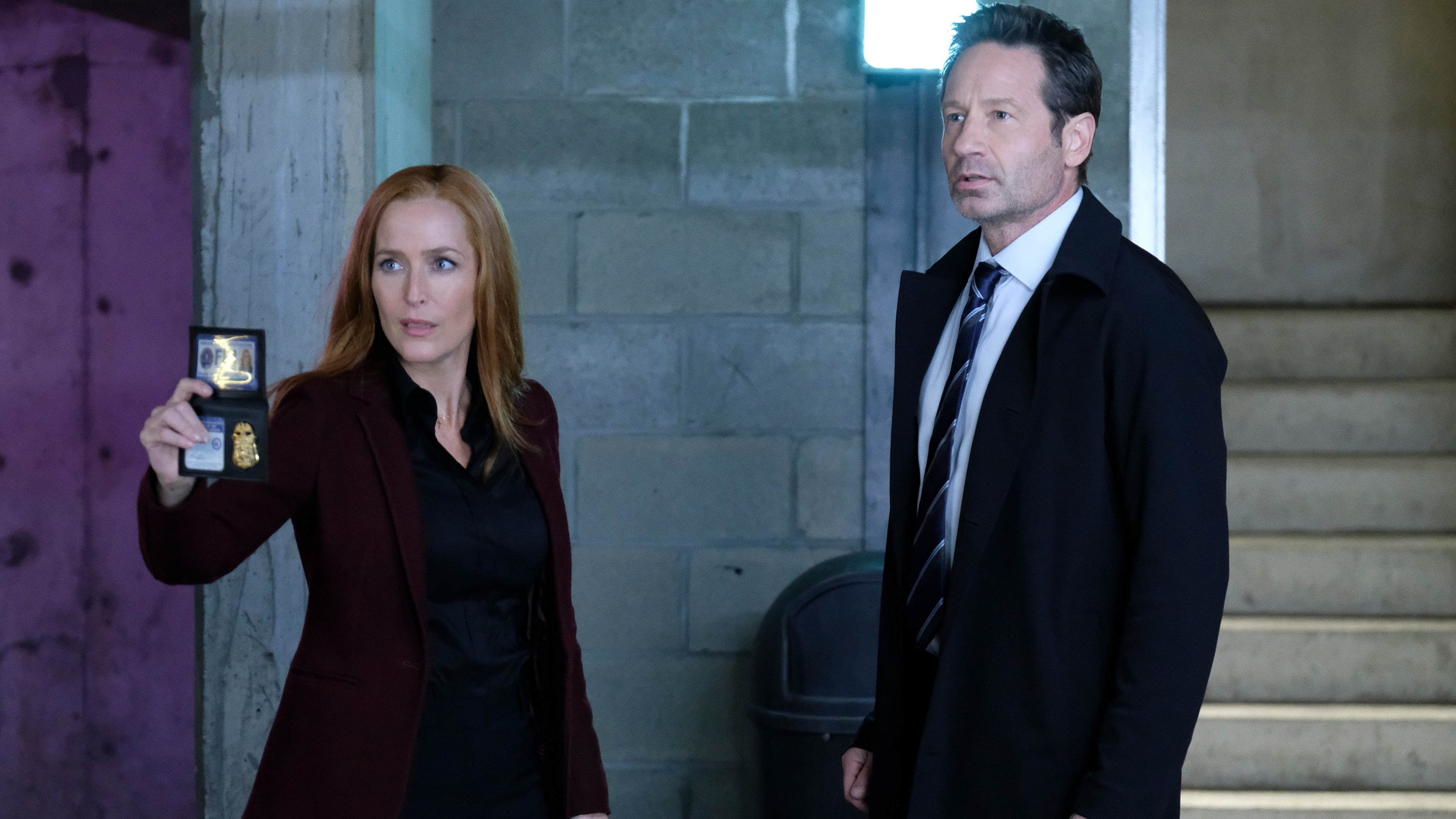 The X-Files Season 11 :Episode 4  The Lost Art of Forehead Sweat