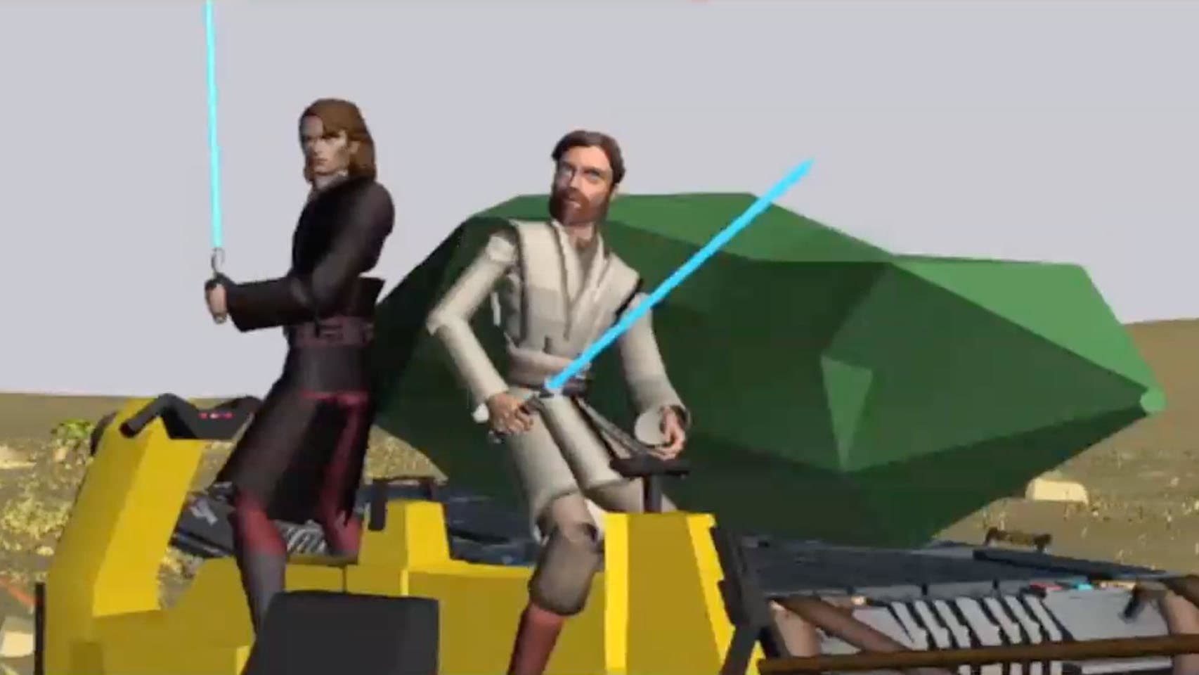 Star Wars: The Clone Wars - Season 0 Episode 25 : Story Reel: Crystal Crisis