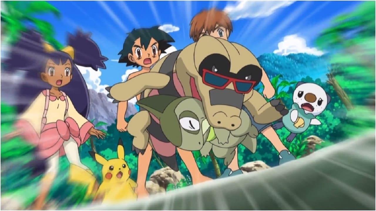 Pokémon Season 14 :Episode 3  A Sandile Gusher of Change!
