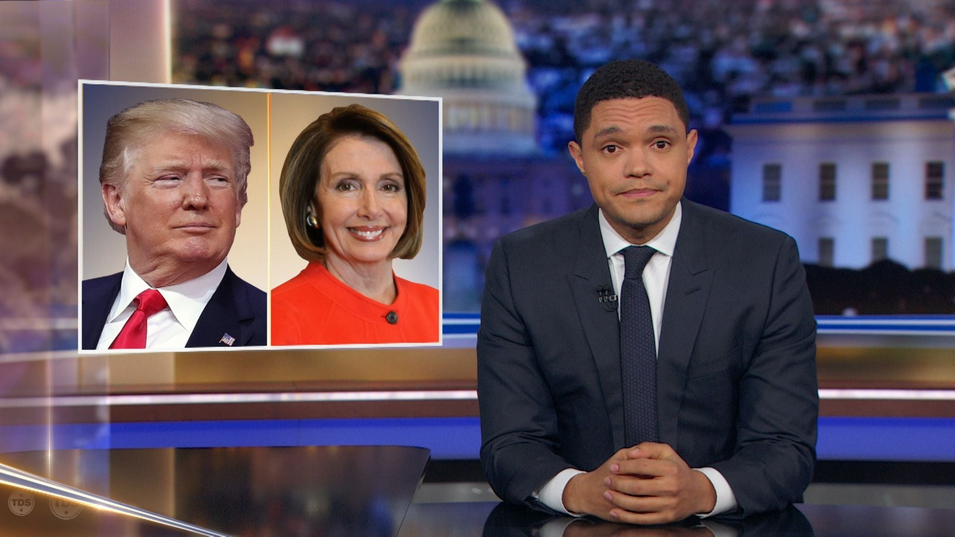 The Daily Show with Trevor Noah Season 24 :Episode 49  Joe Morton