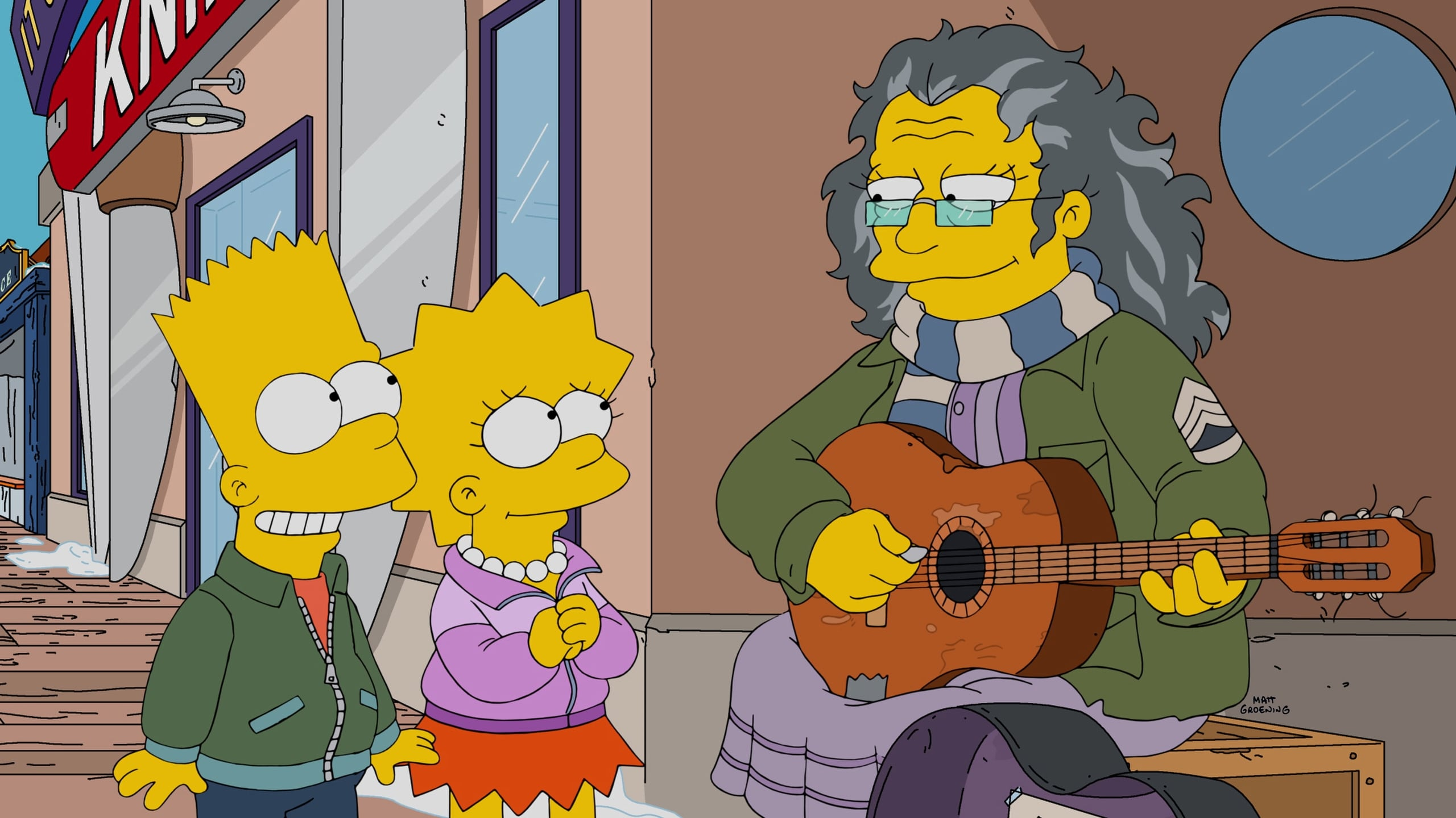 The Simpsons Season 27 :Episode 14  Gal of Constant Sorrow