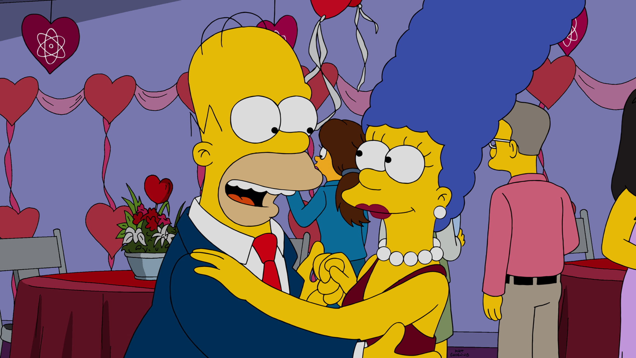 The Simpsons Season 27 :Episode 13  Love is in the N2-O2-Ar-CO2-Ne-He-CH4