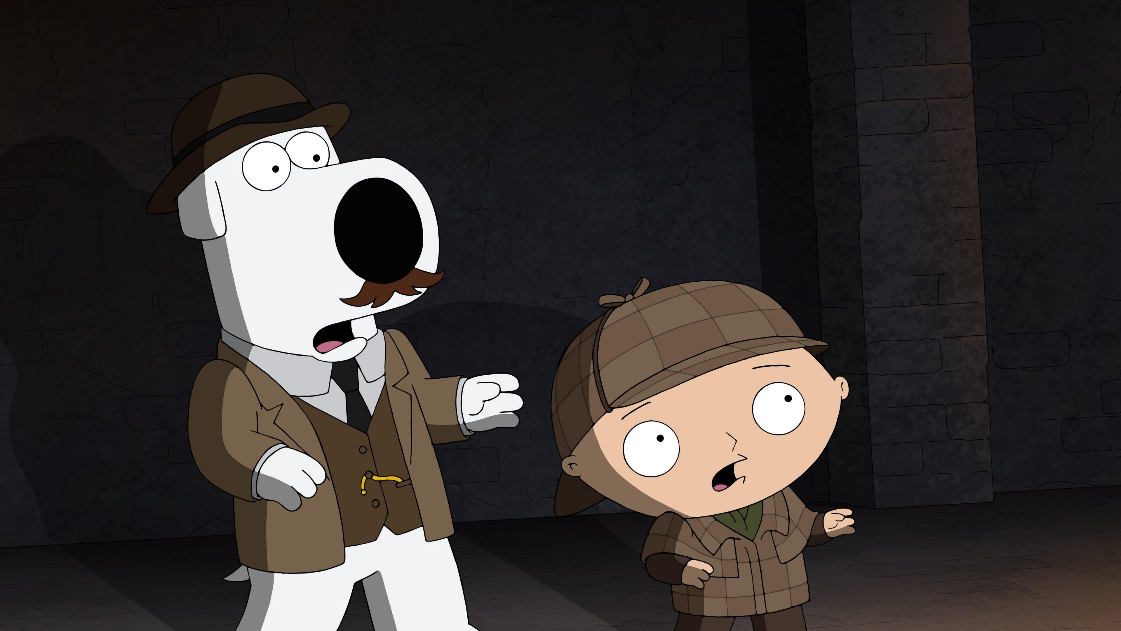 Family Guy Season 16 :Episode 13  V Is for Mystery