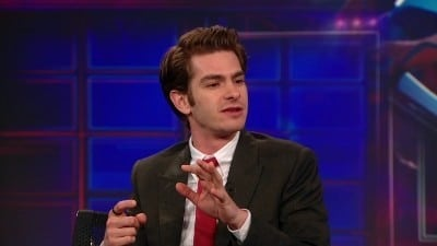 The Daily Show with Trevor Noah Season 17 :Episode 121  Andrew Garfield