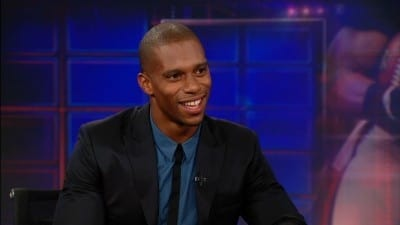 The Daily Show with Trevor Noah Season 17 :Episode 124  Victor Cruz