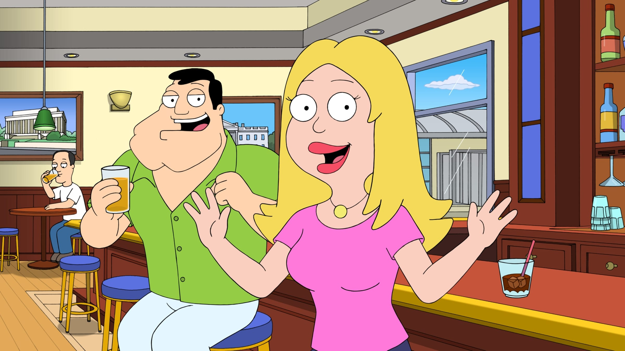 American Dad! Season 10 :Episode 12  Introducing the Naughty Stewardesses