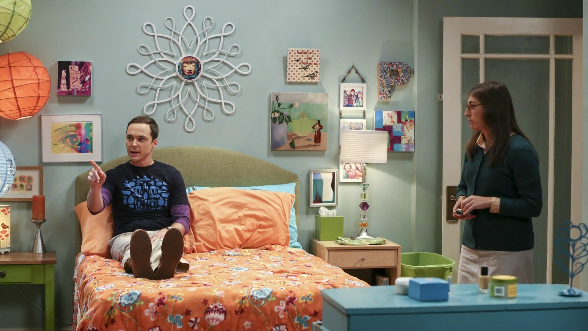 The Big Bang Theory Season 10 : The Cohabitation Experimentation