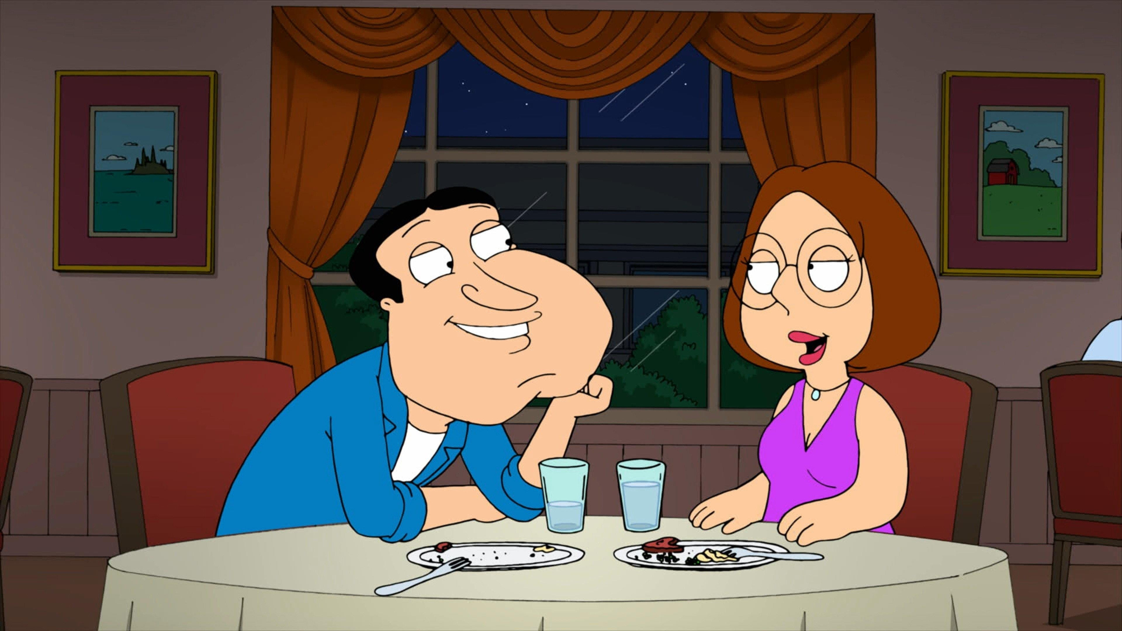 Family Guy Season 10 :Episode 10  Meg and Quagmire