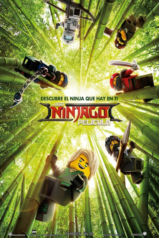 Póster LEGO Ninjago La Película