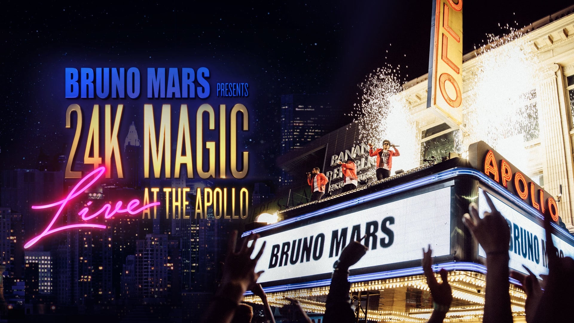 Bruno Mars: 24K Magic Live At The Apollo (2017) • Movies