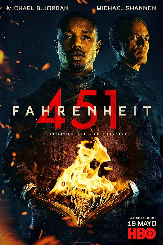 Póster Fahrenheit 451
