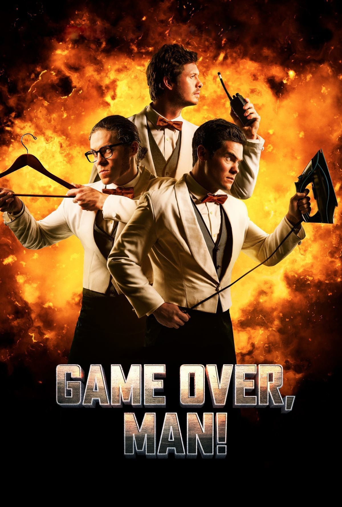 Póster ¡Game Over, Man!