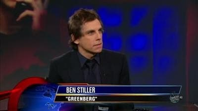 The Daily Show with Trevor Noah Season 15 :Episode 41  Ben Stiller