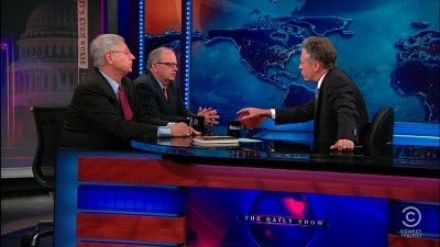 The Daily Show with Trevor Noah Season 17 :Episode 107  Thomas Mann & Norman Ornstein