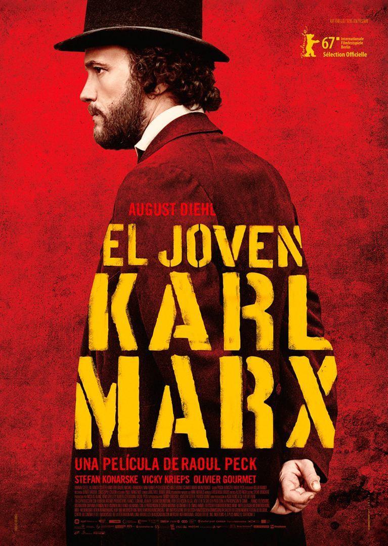 Póster El joven Karl Marx