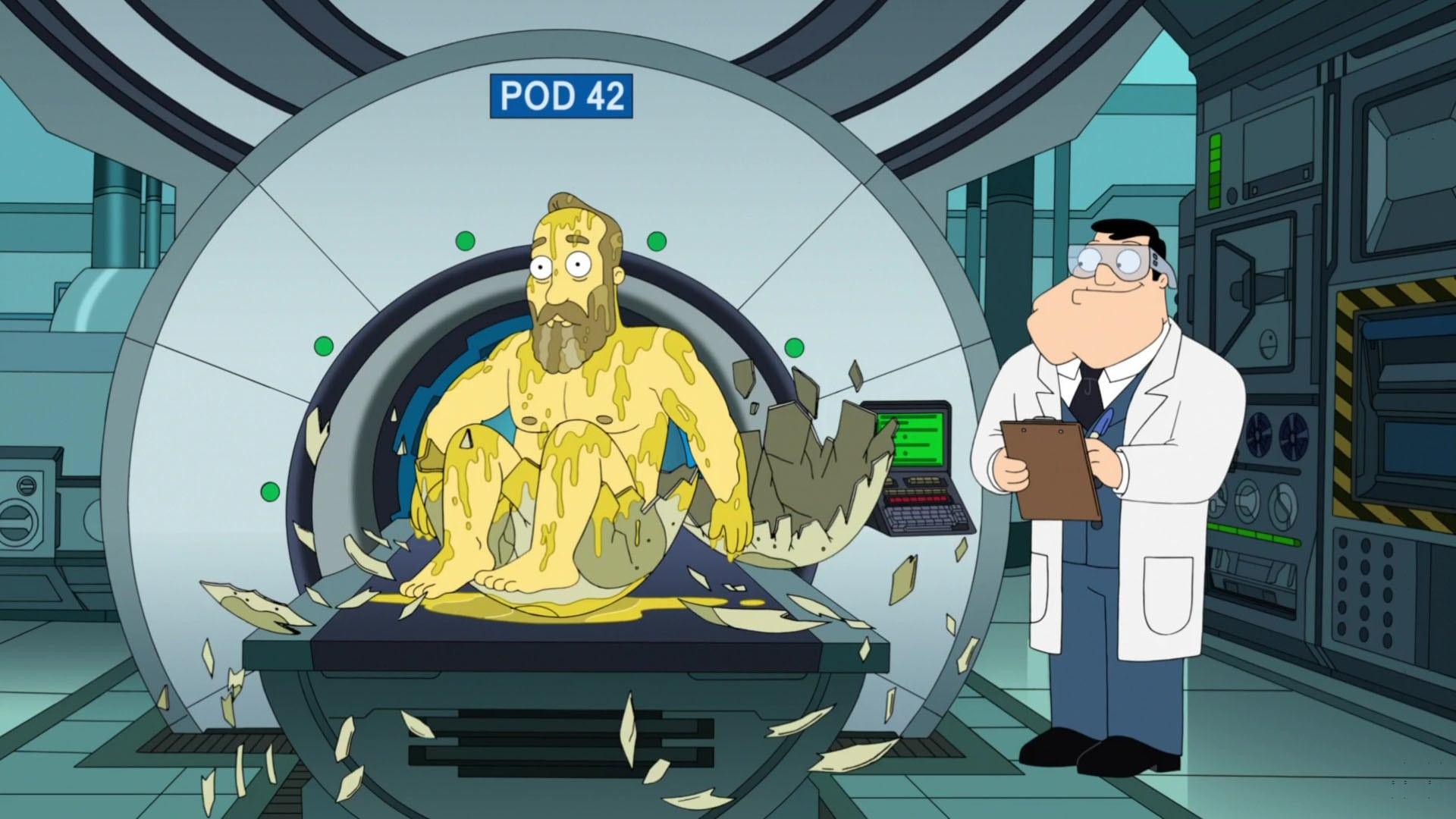American Dad! Season 13 :Episode 19  Garfield and Friends