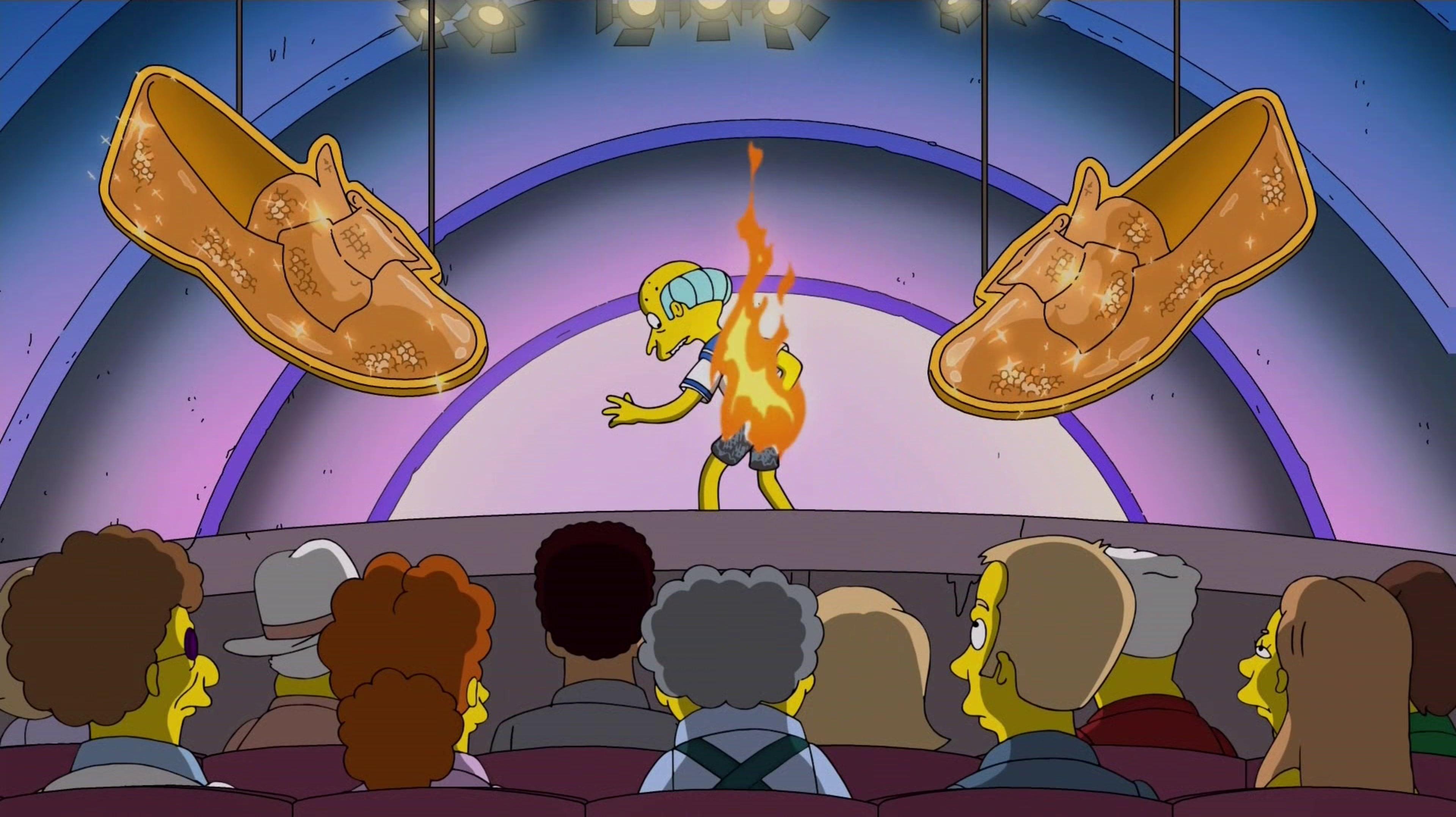 The Simpsons Season 28 : Monty Burns' Fleeing Circus
