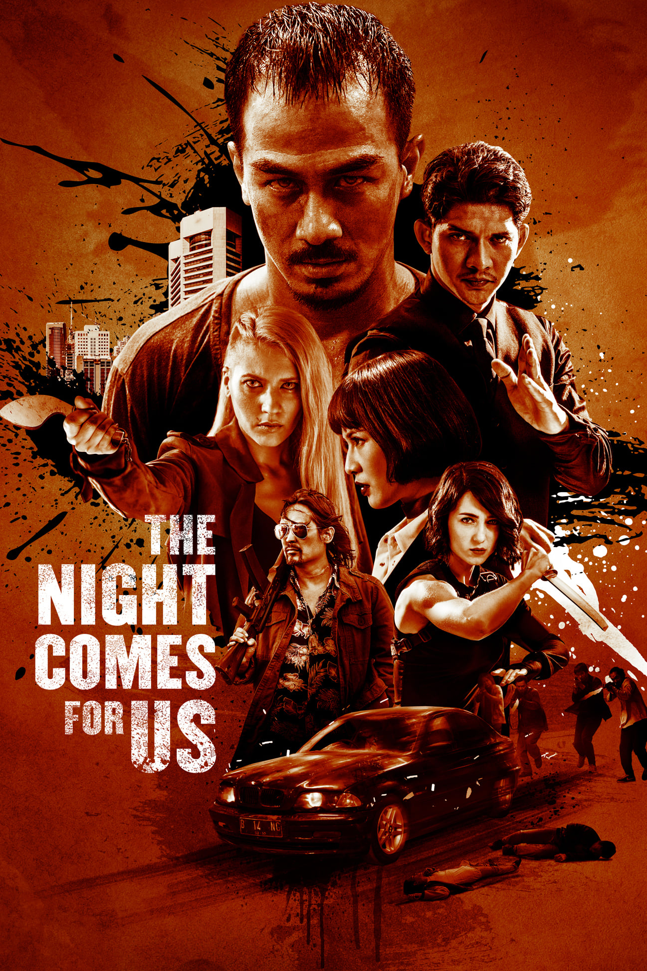 Póster The Night Comes For Us