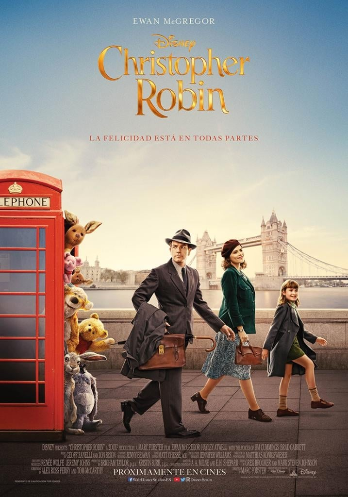 Póster Christopher Robin