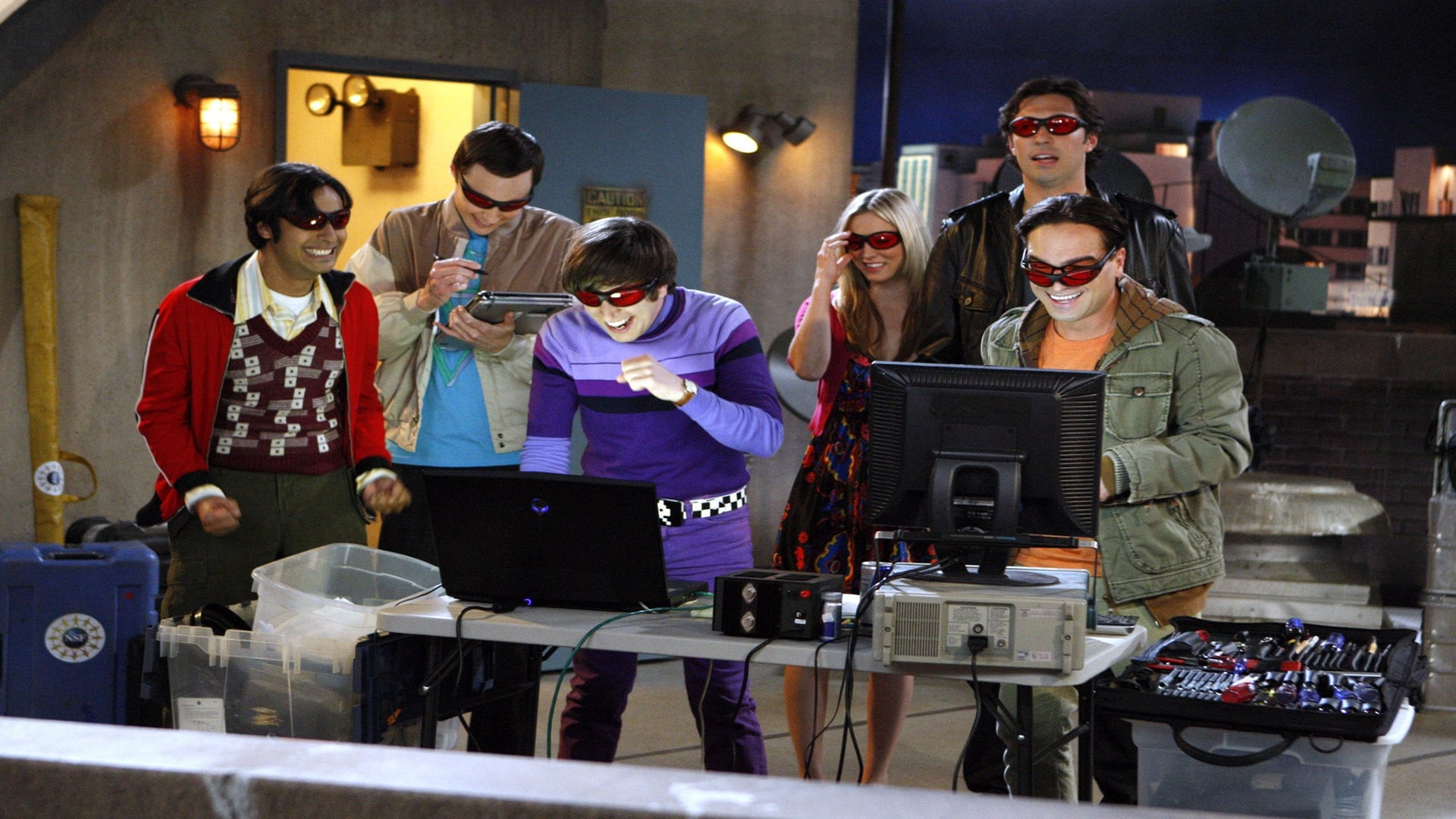 The Big Bang Theory - Season 3 Episode 23 : The Lunar Excitation