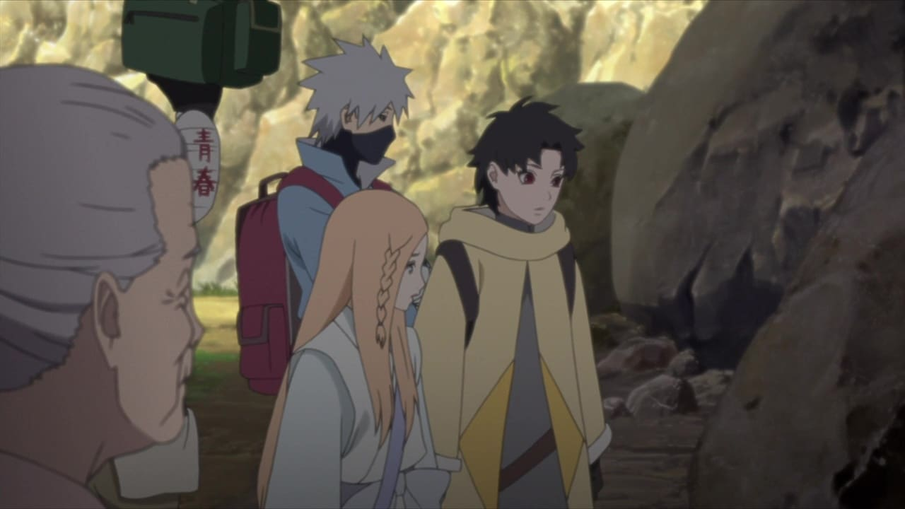 Boruto: Naruto Next Generations Season 1 :Episode 109  The Steam Ninja Scrolls: Potato Chips and the Giant Boulder!