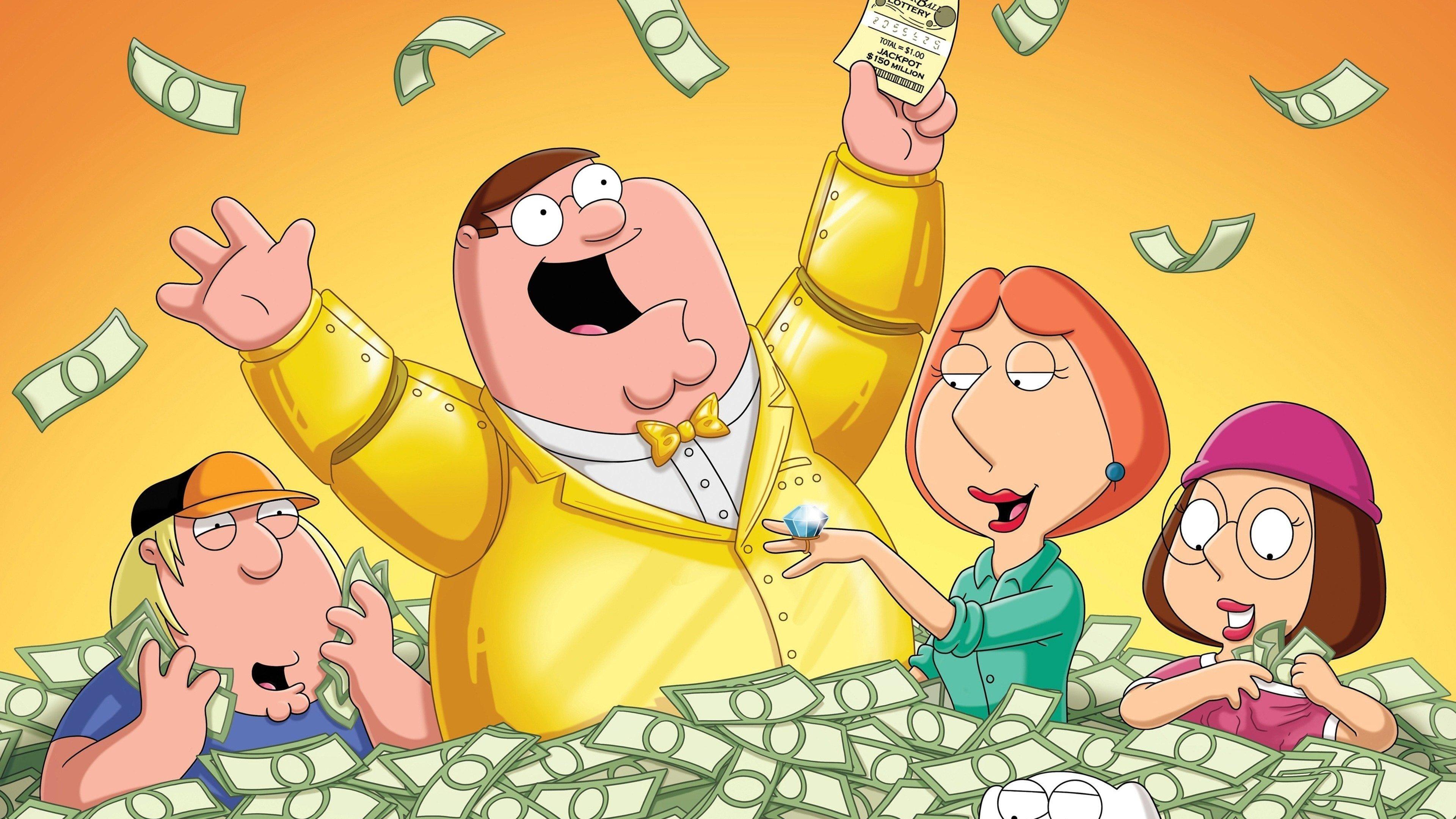 Family Guy Season 10 :Episode 1  Lottery Fever