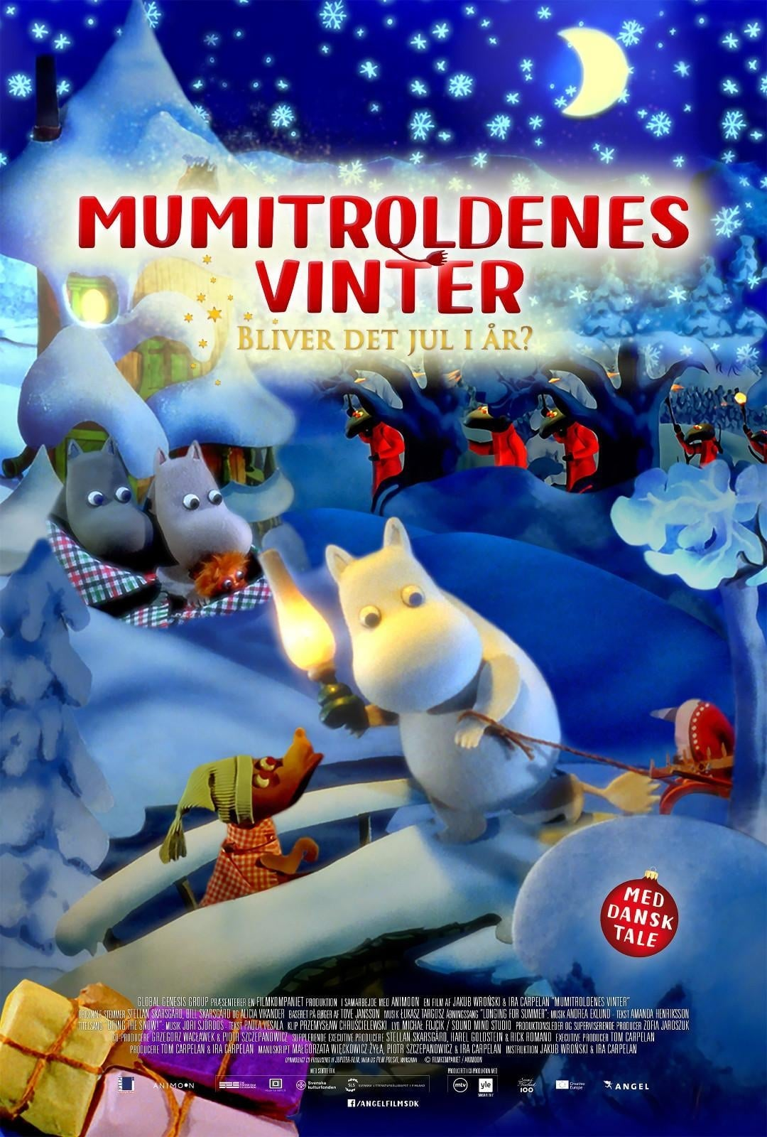 image for Moomins and the Winter Wonderland