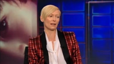 Season 17 :Episode 51  Tilda Swinton